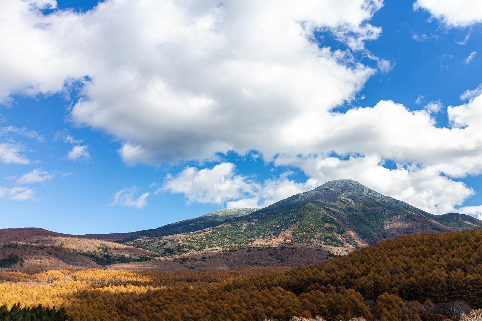 信州にある日本百名山のひとつ蓼科山登山についての画像