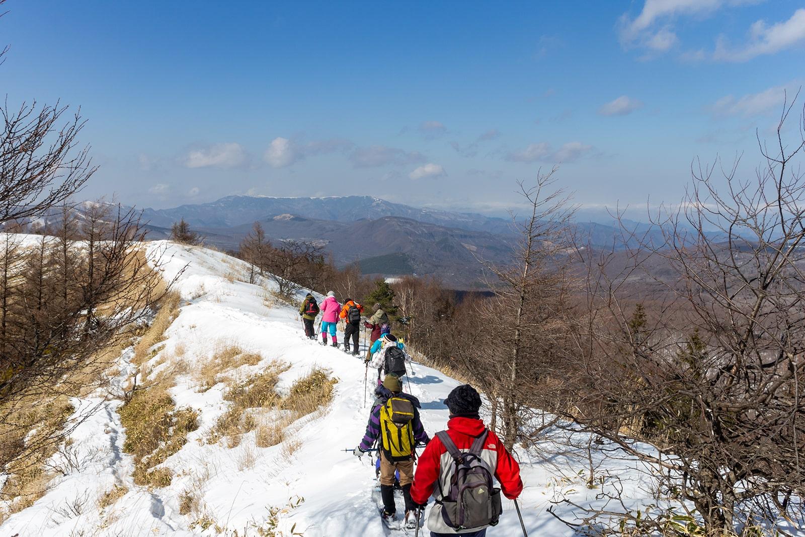 冬の絶景を堪能するコース:八子ヶ峰スノーハイク