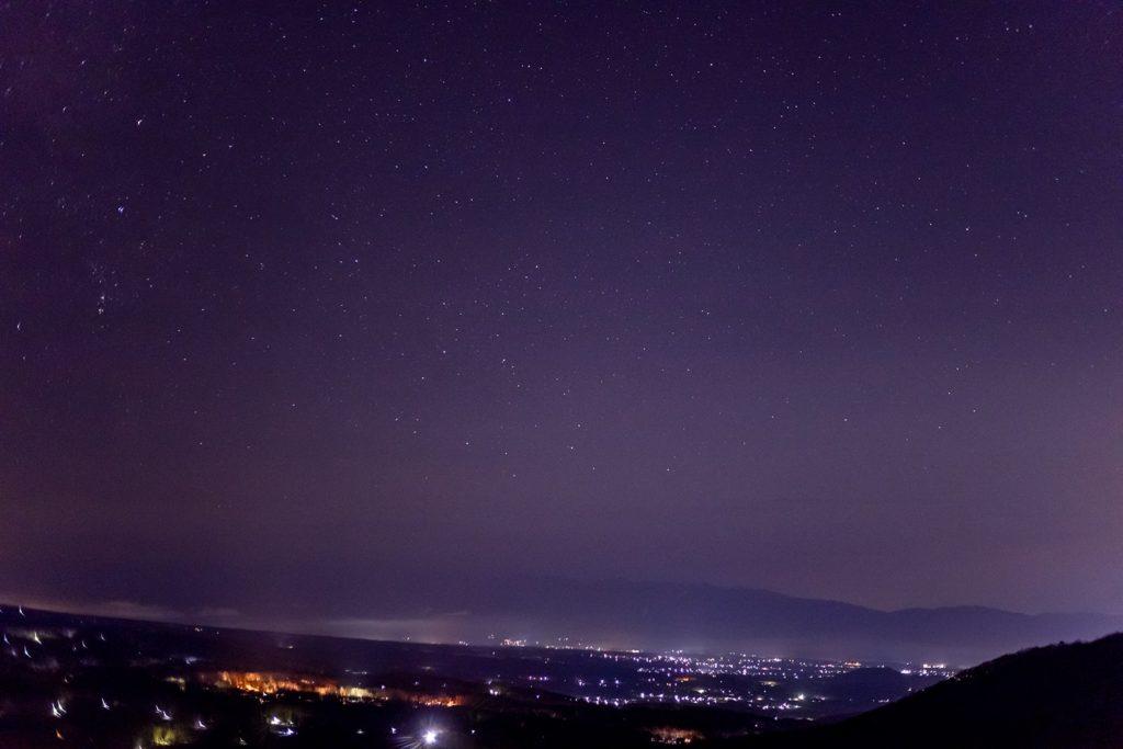 女ノ神展望台からの眺め