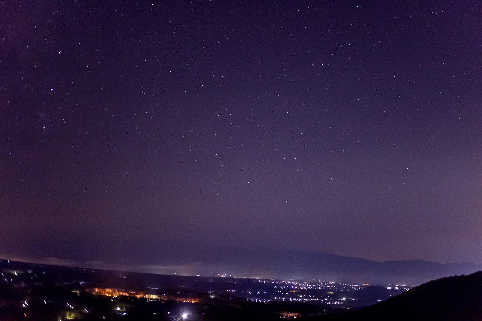蓼科高原と白樺高原の中間と言える女の神展望台