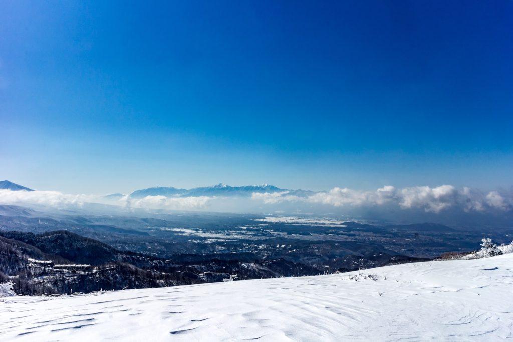 しらかば2in1スキー場からの大パノラマ