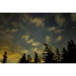 2020年10月6日、蓼科山七合目登山口からの星空