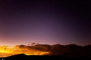 2020年12月2日、夕陽の丘公園からの星空